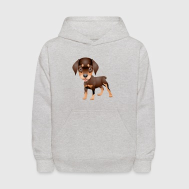 Funny_and_cute_dog_2 - Kids' Hoodie