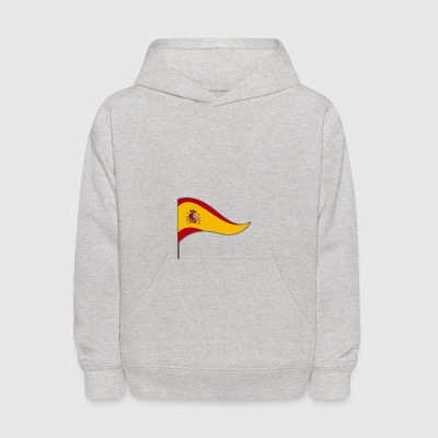 Spain Espania Madrid Flag Banner Flags Ensigns - Kids' Hoodie
