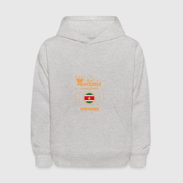 love princesses come from SURINAME - Kids' Hoodie