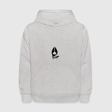 My Logo With Text - Kids' Hoodie