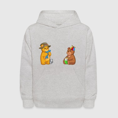 Till and Rill - Kids' Hoodie