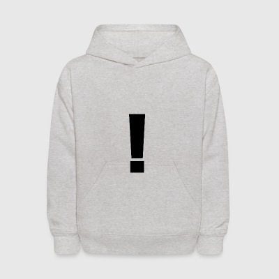 EXCLAMATION POINT - Kids' Hoodie