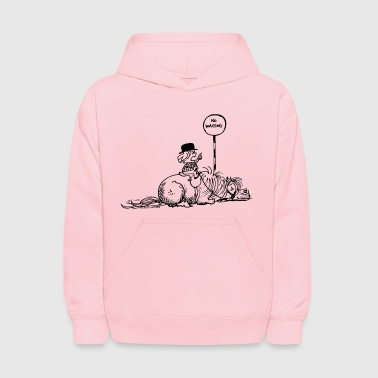 Thelwell No Waiting Lazy Pony - Kids' Hoodie