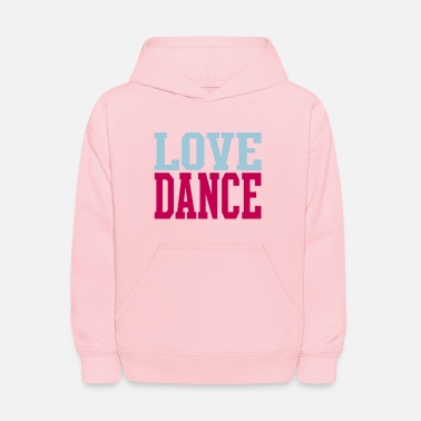 Dance Love Dance Dual Color - Kids' Hoodie
