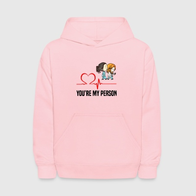 Grey s Anatomy You are my person - Kids' Hoodie