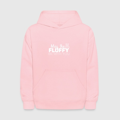 May the fluffly be with you - Kids' Hoodie