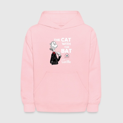 The Cat With The Bat - Kids' Hoodie