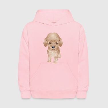 Funny_and_cute_dog_6 - Kids' Hoodie
