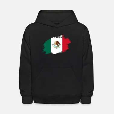 Central Mexico Mexico mexican flag banner central america - Kids' Hoodie