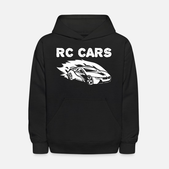 Car Hoodies & Sweatshirts - RC race car - Kids' Hoodie black