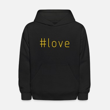 Up-to-date #love - Kids' Hoodie