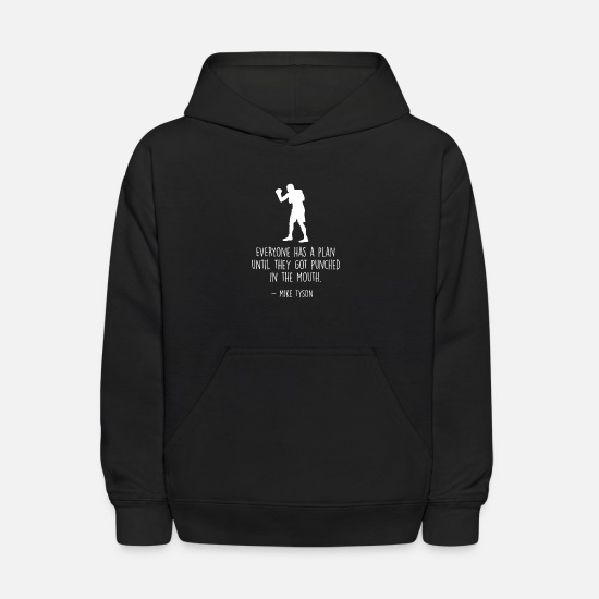 Boxen Hoodies & Sweatshirts - Kickbox MMA Boxing Boxen - Kids' Hoodie black