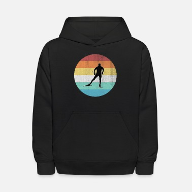Cross Country Skiing Cross Country Skiing - Kids' Hoodie