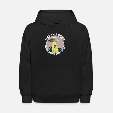 Hijacker Alien Extraterrestrial Abduction hijack gift myth - Kids' Hoodie