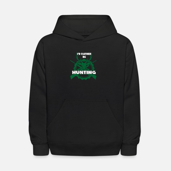 Nature Hoodies & Sweatshirts - Hunting - Kids' Hoodie black