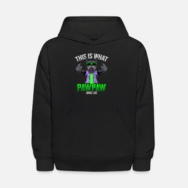 This is what PAW PAW looks like - Kids' Hoodie