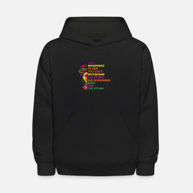 Culture Motivation Black rights Black Woman Gift - Kids' Hoodie