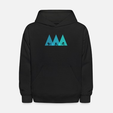 Mountain Bike mountain bike bicycle mtb - Kids' Hoodie