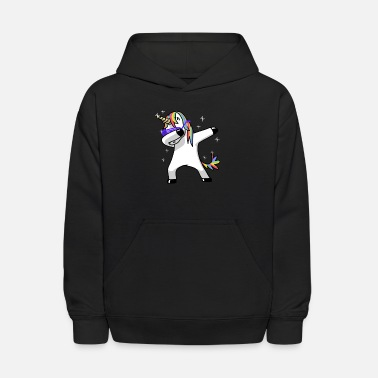 Magic Dabbing Unicorn Funny Magic - Kids' Hoodie