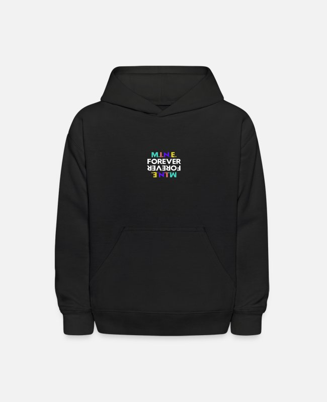 Design Hoodies & Sweatshirts - Mine Forever - Kids' Hoodie black