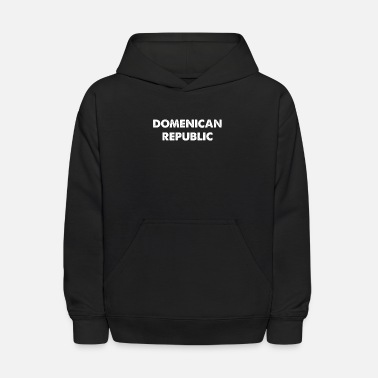 Home Country DOMENICAN REPUBLIC home country traveling - Kids' Hoodie