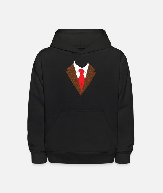 Dressed Hoodies & Sweatshirts - Suits for any occasion dressed formally elegant - Kids' Hoodie black