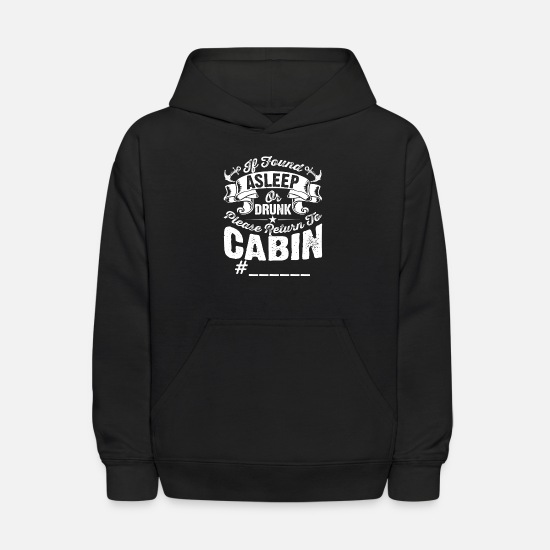 Cruise Hoodies & Sweatshirts - Cruise Ship Accessory If Found Cruise Shirt - Kids' Hoodie black
