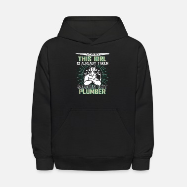 Smoking Hot Plumber Taken By A Smoking Hot Plumber T Shirt - Kids' Hoodie