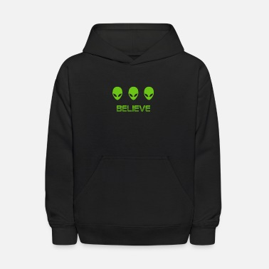 Believe In Ancient Aliens - Kids' Hoodie