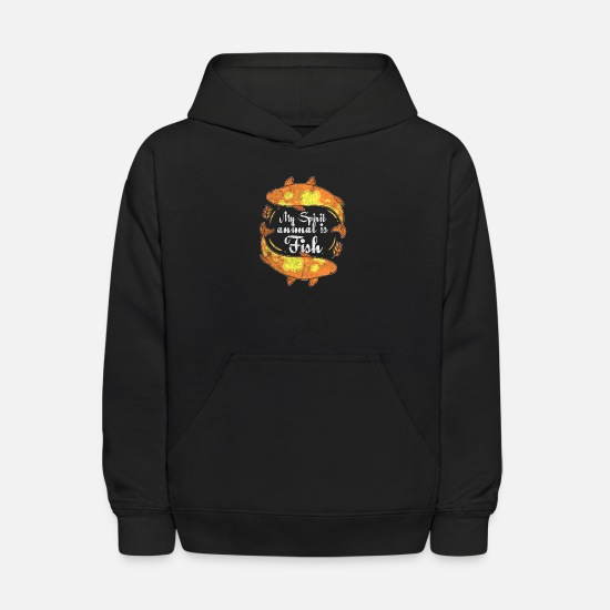 Farewell Hoodies & Sweatshirts - Okay bye - Kids' Hoodie black