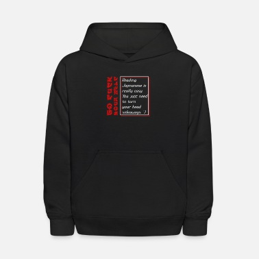 Reading Japanese Is Really Easy Reading Japanese is really easy T-Shirt Student - Kids' Hoodie