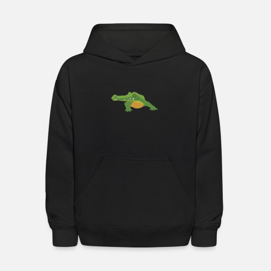 Gift Idea Hoodies & Sweatshirts - Crocodile | Alligator Reptile Reptile Lizard - Kids' Hoodie black