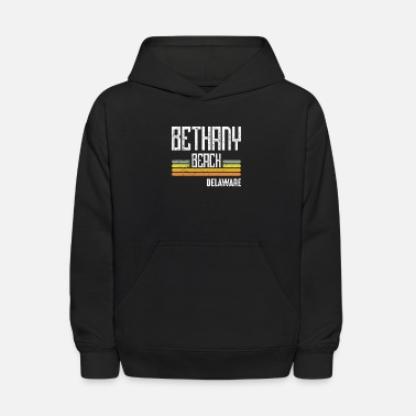 Retro Delaware Bethany Beach Souvenir Vacation - Kids' Hoodie
