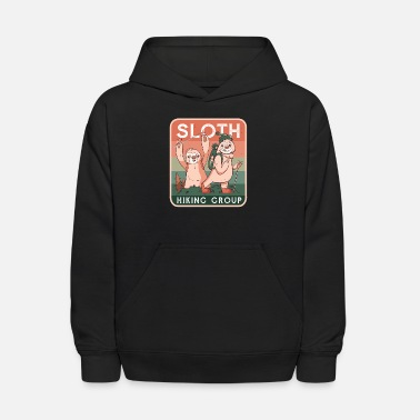 The Sloth Hiking Group - Kids' Hoodie