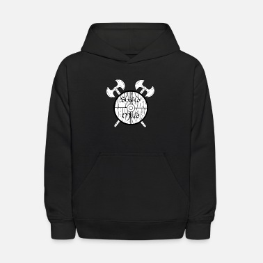Shield Maid Shield Maid Norse Mythology Viking - Kids' Hoodie