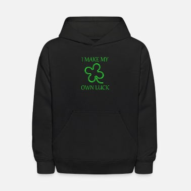 I make my own luck - Kids' Hoodie