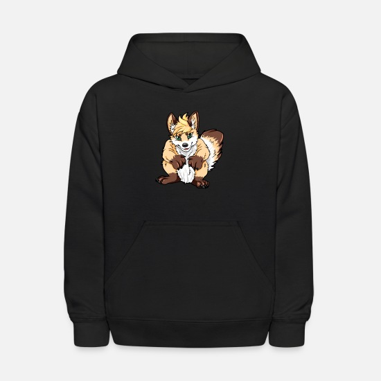 Furry Hoodies & Sweatshirts - Furry - Kids' Hoodie black