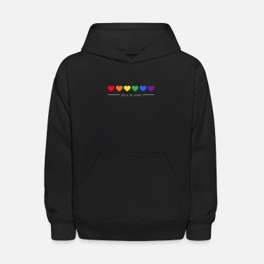 Pride Rainbow, LGBT, Gay Pride, Love Wins, Love is Love - Kids' Hoodie