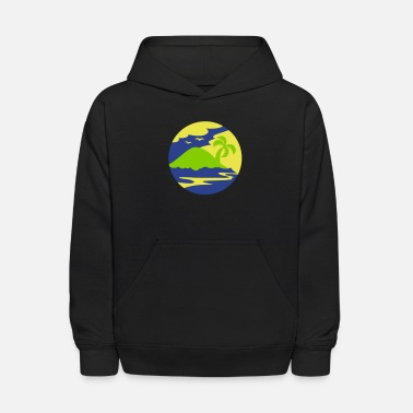 Holiday Island awesome island in a circle Holiday!!! - Kids' Hoodie