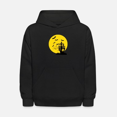 Ghost Haunted Castle - Kids' Hoodie