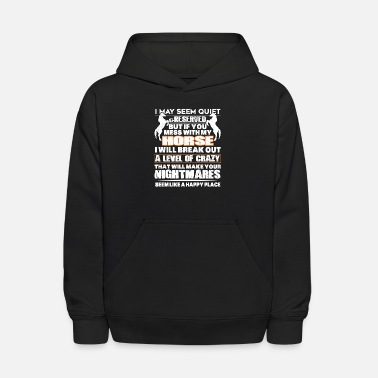 May If You Mess With My Horse T Shirt - Kids' Hoodie