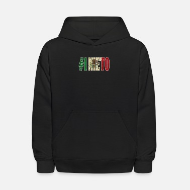 Nieto Nieto Gift Mexican Design For Mexican Flag Design for Mexican Pride Vintage Outline - Kids' Hoodie