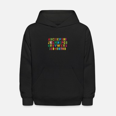 ABC Alphabet design for kids - Kids' Hoodie
