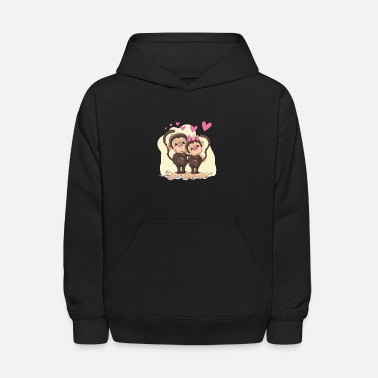 Affection Affective relationship heart - Kids' Hoodie