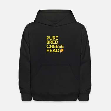 Pure-bred Pure Bred Cheese Head - Kids' Hoodie