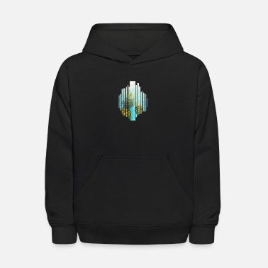 Pineapple Splash Cocktail Tropic gift idea cool - Kids' Hoodie