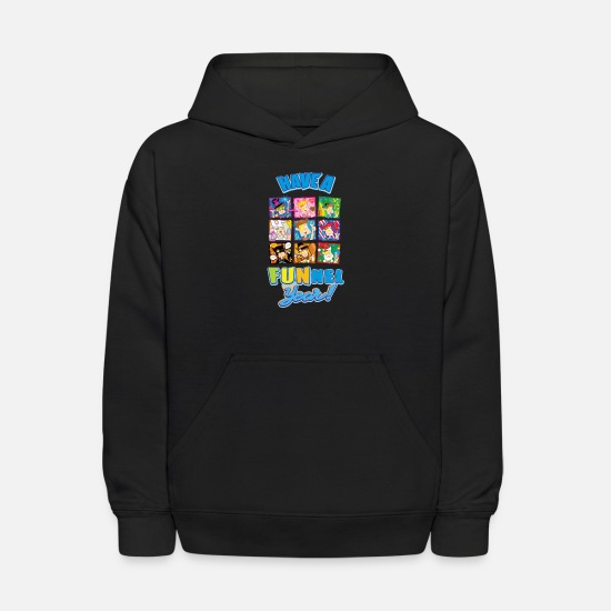 Vision Hoodies & Sweatshirts - Have a FUNnel Year - Kids' Hoodie black