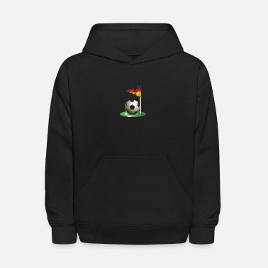 Corner Kick Corner kick Soccer Football german flag - Kids' Hoodie