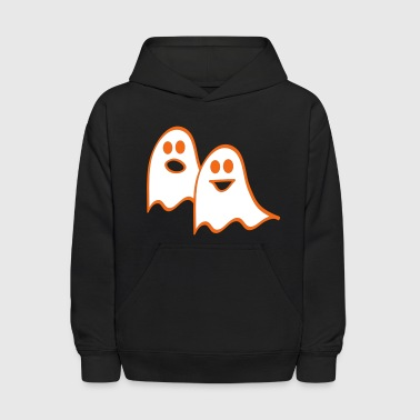 Pair of Ghosts - Kids' Hoodie