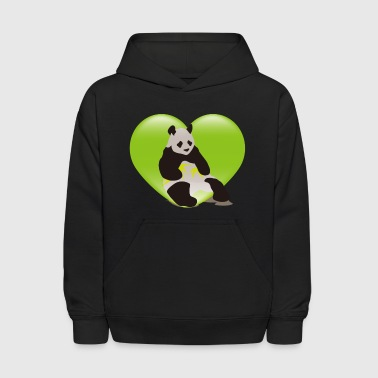 Stuffed Animal The stuffed toy of the panda - Kids' Hoodie